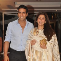 Akshay Kumar with Dimple Kapadia at Music launch of film 'Tell Me O Kkhuda' in Mumbai | Tell Me O Kkhuda Event Photo Gallery
