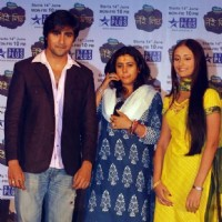 Ekta Kapoor promote Tere Liye with Anupriya Kapoor and Harshad Chopra