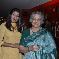 Bhavana Balsawer and Shubha Khote at Premiere of film 'Aazaan' at PVR Cinemas in Juhu, Mumbai