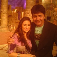 Parvati Sehgal with Sudesh on Comedy Circus