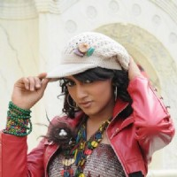 Additi Gupta during the shooting of title song Zara Nachke Dikha