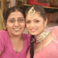 Drashti Dhami with Swati Panday