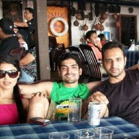 Gurmeet & Debina at Goa