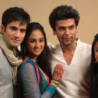 Karan Tacker, Krystle Dsouza, Nia Sharma and Kushal Tandon in the show Ek Hazaaron Mein Meri Behna H