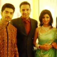 Gurmeet & Debina Choudhary With Friends