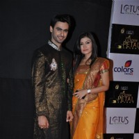 Varun Kapoor and Simran Kaur at Golden Petal Awards By Colors in Filmcity, Mumbai