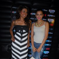 Nigaar Z. Khan at FHM anniversary celebrations in Mumbai
