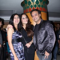 Siddharth Kumar Tewary with Sargun Mehta and Rakshandha grace completino of 200 episodes of Phulwa