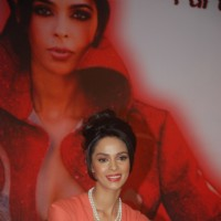 Mallika Sherawat at Spanish Theme New Year's eve press meet at Tulip Star in Juhu, Mumbai