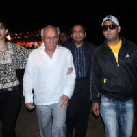 Yash Raj Chopra & Prashant Shirsat at 'Spinnathon 2011' at Mumbai
