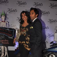 Pooja Bedi and Rahul Khanna at launch of Kielhs India at Mehboob Studio in Mumbai