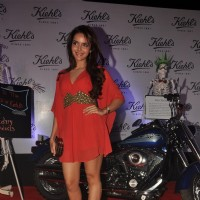 Shazahn Padamsee at launch of Kielhs India at Mehboob Studio in Mumbai