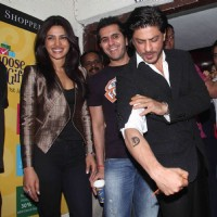 Priyanka Chopra, Ritesh Sidhwani, Shah Rukh Khan at Don 2 special screening at PVR | Don 2 Event Photo Gallery
