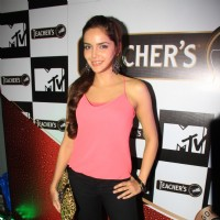 Shazahn Padamsee at Teachers scotch launch in Vie Lounge, Juhu