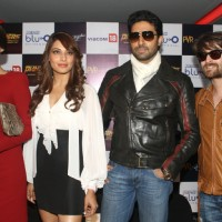 "Abhishek, Bipasha, Sonam and Neil Nitin at ""Blu O"" to promote their film ""Players"", in New Delhi 