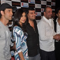 Hrithik Roshan, Sanjay Dutt, Priyanka Chopra and Karan Johar at 'Agneepath' trailer launch event | Agneepath(2012) Event Photo Gallery