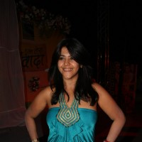 Ekta Kapoor launches TV serial 'Kya Huaa Tera Vaada' on Sony TV at Hotel JW Marriott Terrace