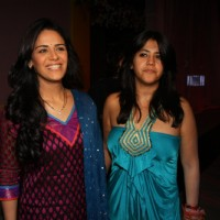 Ekta Kapoor with Mona launches TV serial 'Kya Huaa Tera Vaada' on Sony TV at Hotel JW Marriott