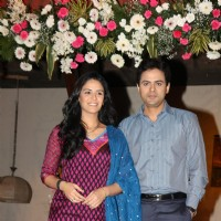 Mona and Pawan Shankar at launch of TV serial 'Kya Huaa Tera Vaada' on Sony TV at Hotel JW Marriott