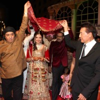 Danny Denzongpa, Ranjeet grace Deepshikha Nagpal wedding reception in Mumbai