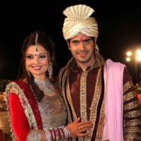 Deepshikha Nagpal and Kaishav Arora wedding reception in Mumbai