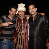 Rahul Mahajan grace Kaishav Arora wedding reception in Mumbai