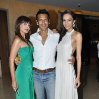 Dipannita Sharma, Milind Soman at Music launch of movie 'Jodi Breakers' at Goregaon | Jodi Breakers Event Photo Gallery