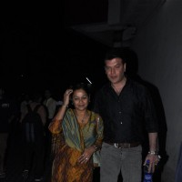 Aditya Pancholi with Zarina Wahab at Special screening of the film 'Agneepath' at PVR Juhu in Mumbai | Agneepath(2012) Event Photo Gallery