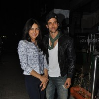 Hrithik & Priyanka at Special screening of the film 'Agneepath' at PVR Juhu in Mumbai | Agneepath(2012) Event Photo Gallery