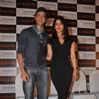 Hrithik and Priyanka at Success party of movie 'Agneepath' at Yashraj | Agneepath(2012) Event Photo Gallery