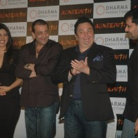 Sanjay Dutt, Rishi Kapoor and Priyanka at Success party of movie 'Agneepath' at Yashraj | Agneepath(2012) Event Photo Gallery