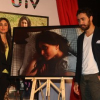 Imran Khan & Kareena Kapoor at Press meet of movie 'Ek Main Aur Ekk Tu' photography exhibition at Cinemax in Mumbai | Ek Main Aur Ekk Tu Event Photo Gallery