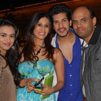 Prerna Wanvari, Kishwar Merchant, Suyesh and Sandeep at Ye Rishta Kya Kehlata Hai 800 episodes