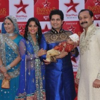 Ye Rishta Family at STAR Parivaar Awards Red Carpet