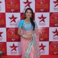 Pooja Gor at STAR Parivaar Awards Red Carpet