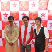 Jiten Lalwani, Sham Mashalkar and Akshay Sethi at STAR Parivaar Awards Red Carpet