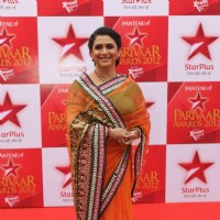 Supriya Pilgaonkar at STAR Parivaar Awards Red Carpet