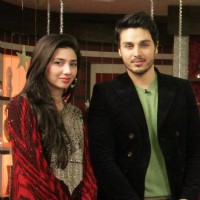 Mahira Khan and Ahsan Khan