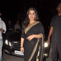 Vidya Balan at Kahaani Success Bash in Novotel. . | Kahaani Event Photo Gallery