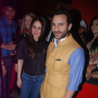 "Kareena Kapoor and Saif Ali Khan at ""Agent Vinod"" movie screening 