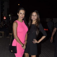 Malaika Arora Khan and Amrita Arora at 'Agent Vinod' screening | Agent Vinod Event Photo Gallery