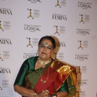 Usha Uthup at Loreal Femina Women Awards 2012