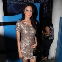 Aanchal Kumar at UTV Stars Walk of the Stars after party