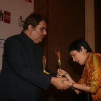 Raza Murad and Meghna Malik at Golden Achiever Awards 2012 at The Club in Andheri