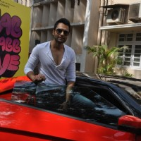"Jackky Bhagnani during the Mahurat of Movie ""Ajab Gazabb Love"" 