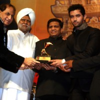 Harish Shah, Buta Singh, Shakeel Saifi, Chirag Paswan and Kailash Masoom at Dr. Ambedkar Awards