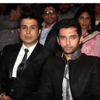 Neeraj Soni and Chirag Paswan at Dr. Ambedkar Awards