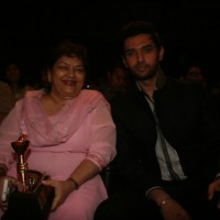 Saroj Khan & Chirag Paswan at Dadasaheb Ambedkar Awards organised by Kailash Masoom & Harish Shah
