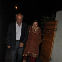 Yash Chopra and Pamela Chopra at  Poonam Dhillon Birthday Bash