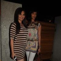 Deepshika Nagpal and Ruby Bhatia at Poonam Dhillon Birthday Bash